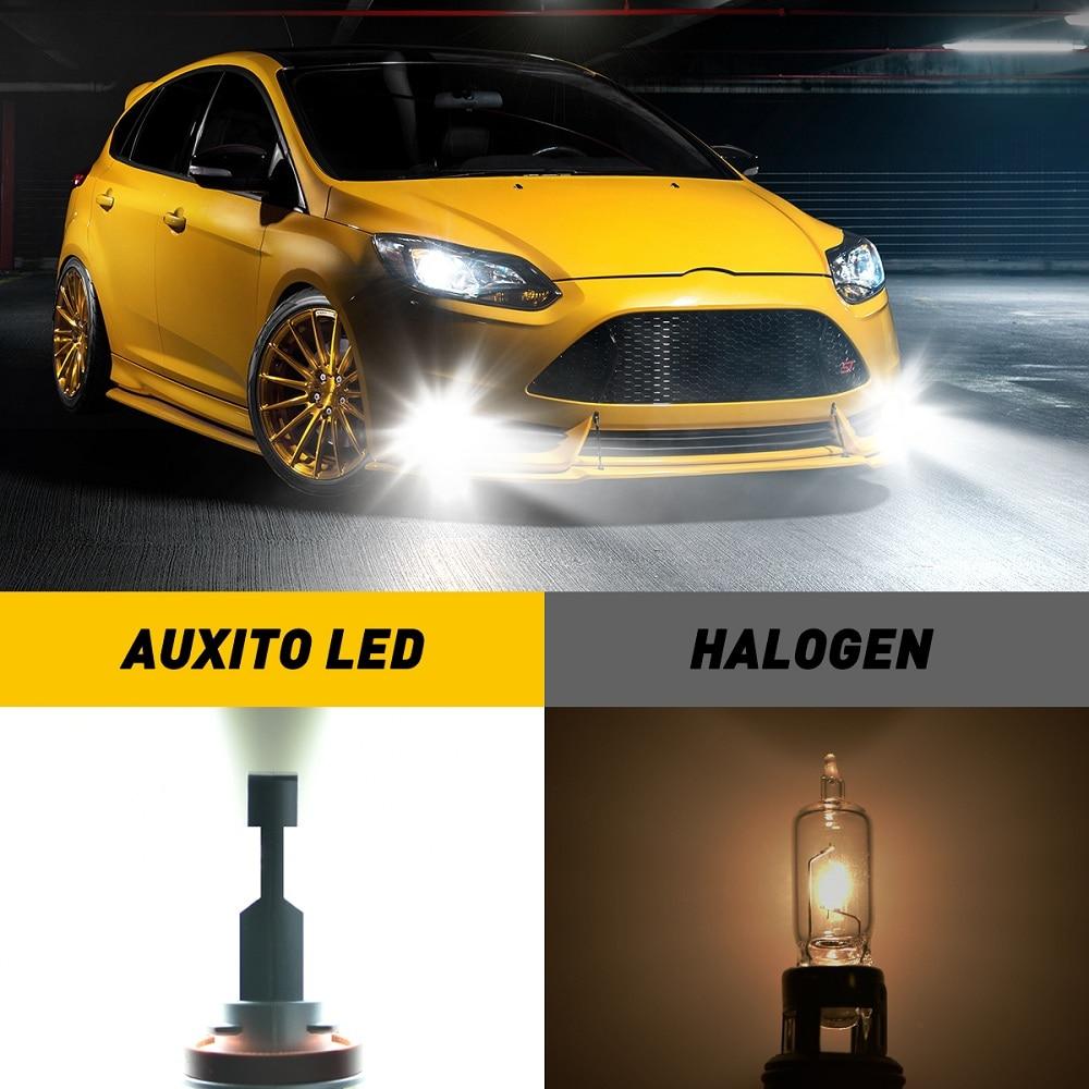 2Pcs Canbus No Error H11 H8 LED Yellow White H10 Led Fog Lights H16JP LED Bulb Car Driving Lamp for BMW Toyota Skoda Ford Lada