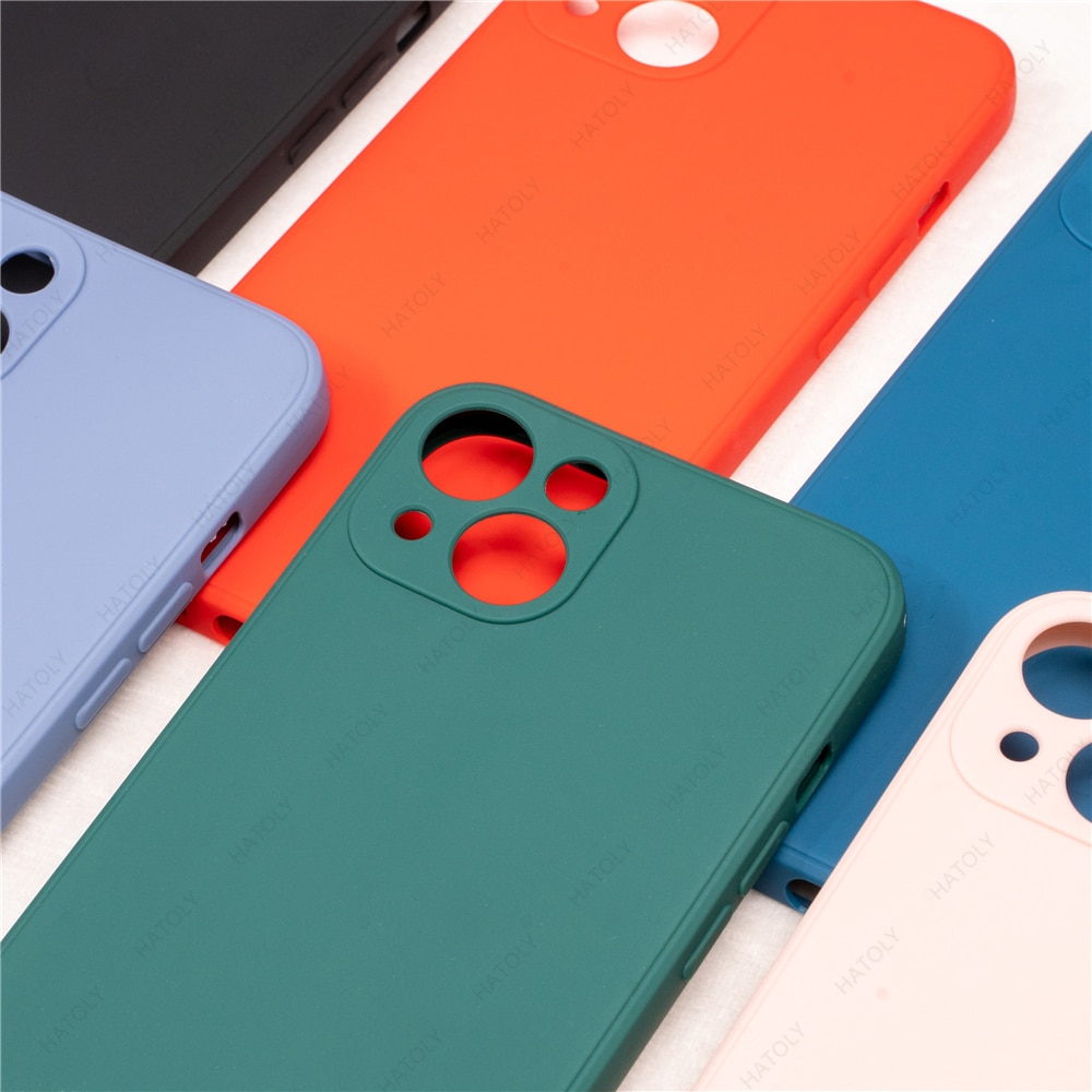 For iPhone 13 Mini Case Cover for iPhone 13 12 11 Pro Max Mini X XR XS 6 6s 7 8 Plus SE 2020 Shell L