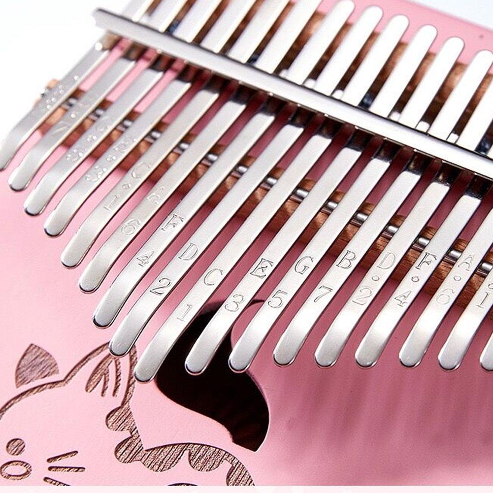 Kalimba 17 Key Mahogany Thumb Piano Mbira Musical Instrument Africa Finger Piano Machine 17 Key Piano Instrumento Musical enlarge