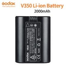 Batterie Li-ion Godox V350 Speedlite VB20 DC 7.2v 2000mAh batterie Lithium-ion pour Godox V350N 350 S V350F V350O (batterie unique)