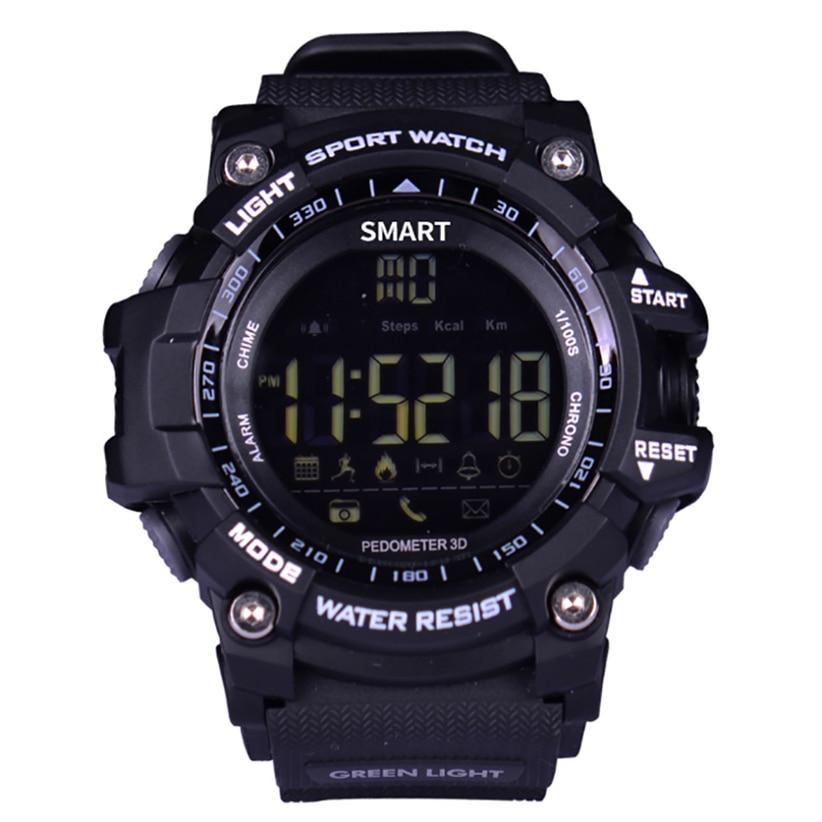 EX16 Smartwatch Professional Waterproof Monitoring Sport Pedometer Reminder Push Message Long Wait X-clock Fitness Sleep Tracker
