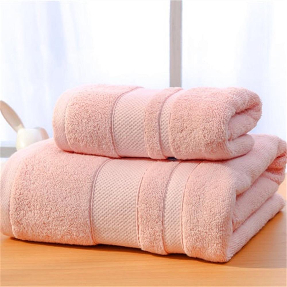 Toalla de baño conjunto 2 piezas antibacteriano algodón orgánico hogar hotel de playa Toalla de piscina toalla adecuado hombres y mujeres