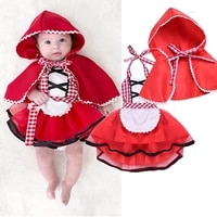 0 24 month newborn baby girls clothes tulle tutu dress infant plaid lace fancy cape cloak outfits red clothes