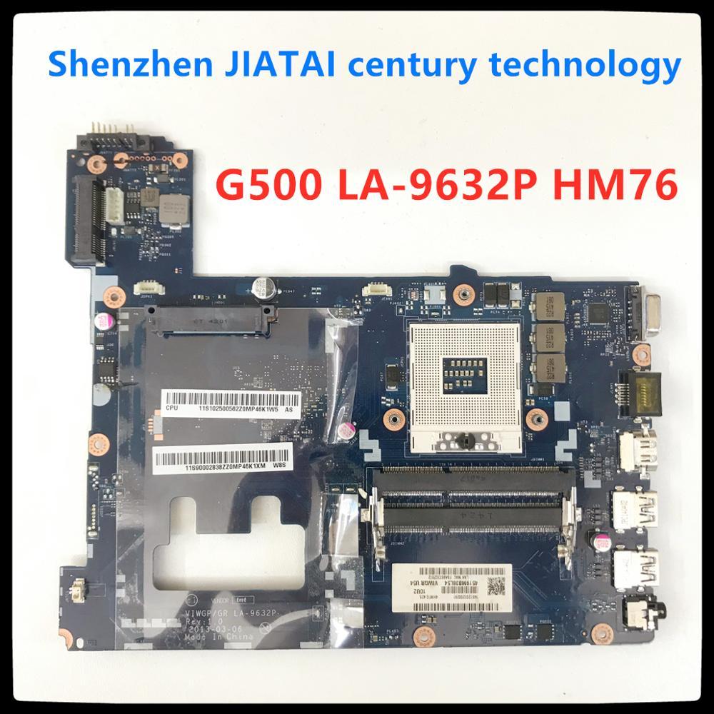 VIWGP/GR LA-9632P материнская плата для ноутбука LENOVO G500 ноутбук материнская плата HM76 поддержка core I3 I5 I7 processo DDR3 100% ТЕСТ ОК
