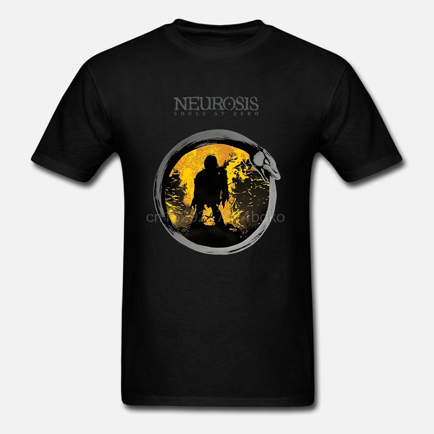 Camiseta de los hombres de las almas de la Neurosis en Zero
