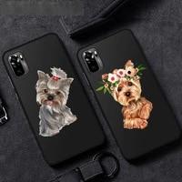 i love yorkshire terrier dog phone case for huawei p40 p20 p30 mate 40 20 10 lite pro nova 5t p smart 2019