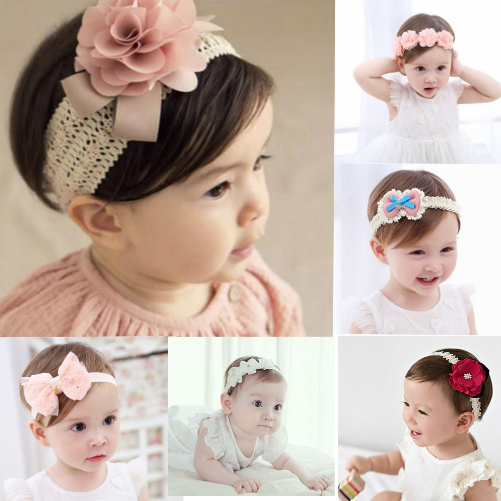 AliExpress - baby headband korean newborn flowers headbands baby girls hair accessories DIY jewelry Children photographed photos accessory