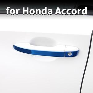 Декоративные наклейки на дверные ручки, внешние защитные наклейки из нержавеющей стали, декоративные наклейки для Honda
