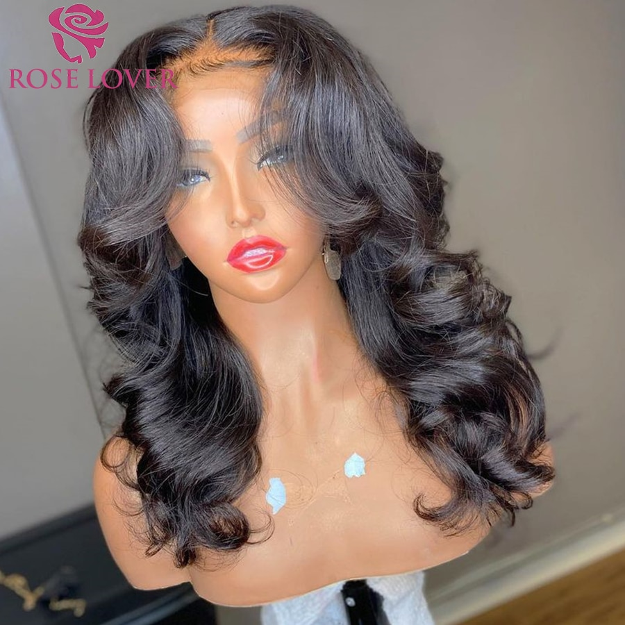 13X4 Lace Frontal Wig 30 inch Lace Frontal Wig Body Wave Human Hair Wigs 4x4 Closure Wig With Baby Hair Brazilian Wigs For Women