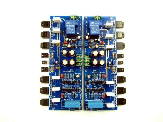 Circuito de referencia ACCUPHASE 260W + 260W (Clase AB), 50W + 50W (Clase A), placa amplificadora