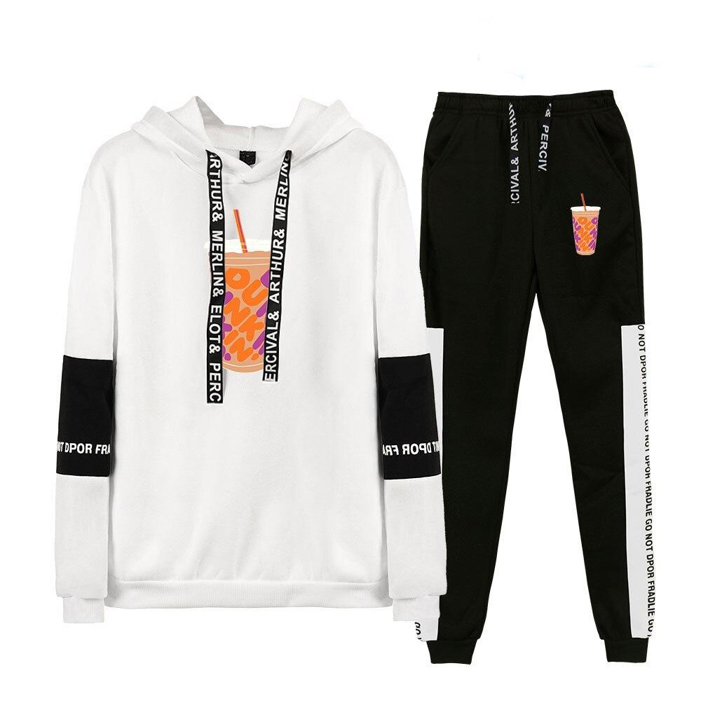 New Merch Charli Damelio Hoodie Sweatshirt Sweatpants Suit Charlie Damelio Merch Shirt Trousers Sets Unisex Clothes Pullover