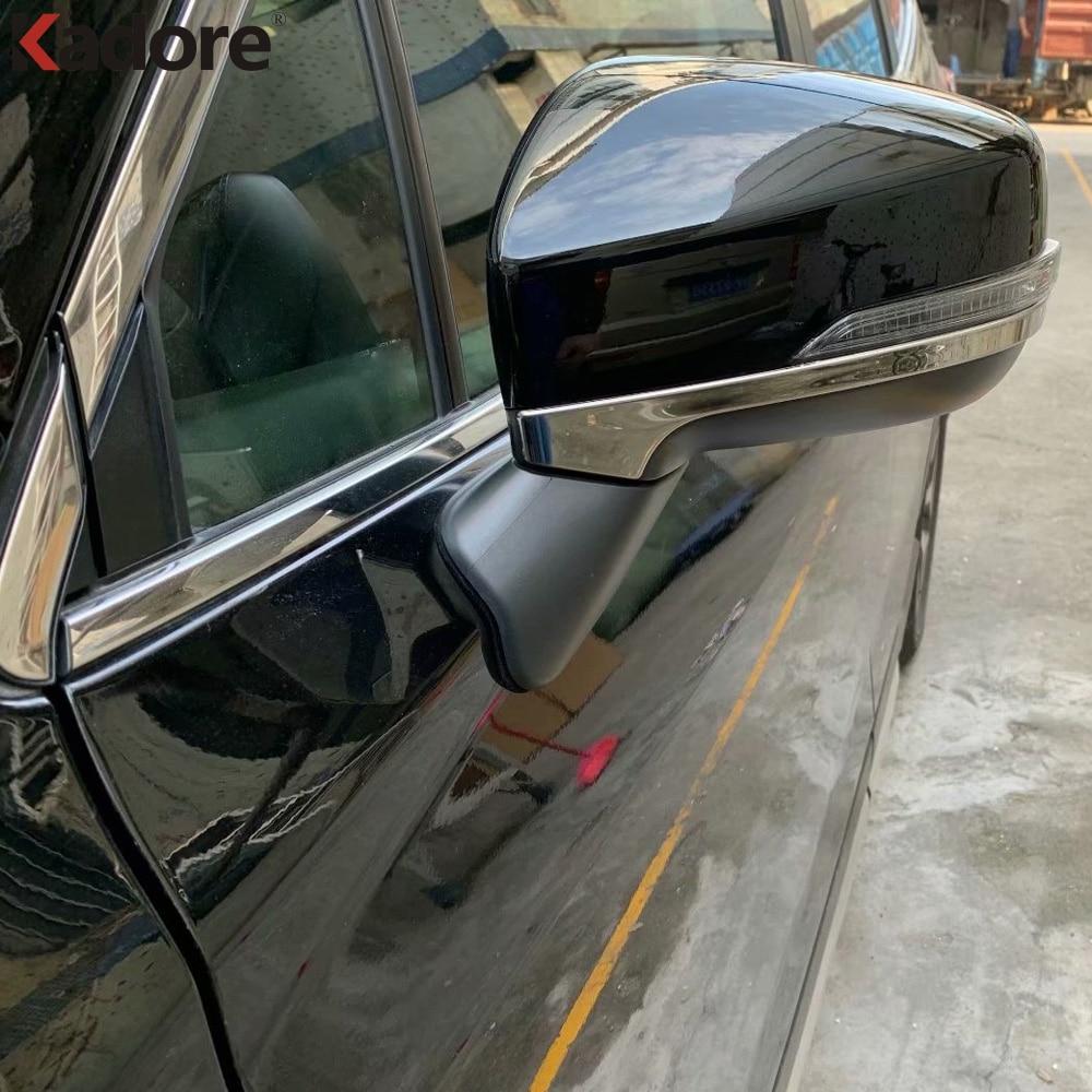 Para Subaru Forester SK 2019 2020 5th Ge ABS exterior de visión trasera tira de espejo moldura cubierta Kit Trim Kit accesorios de coche