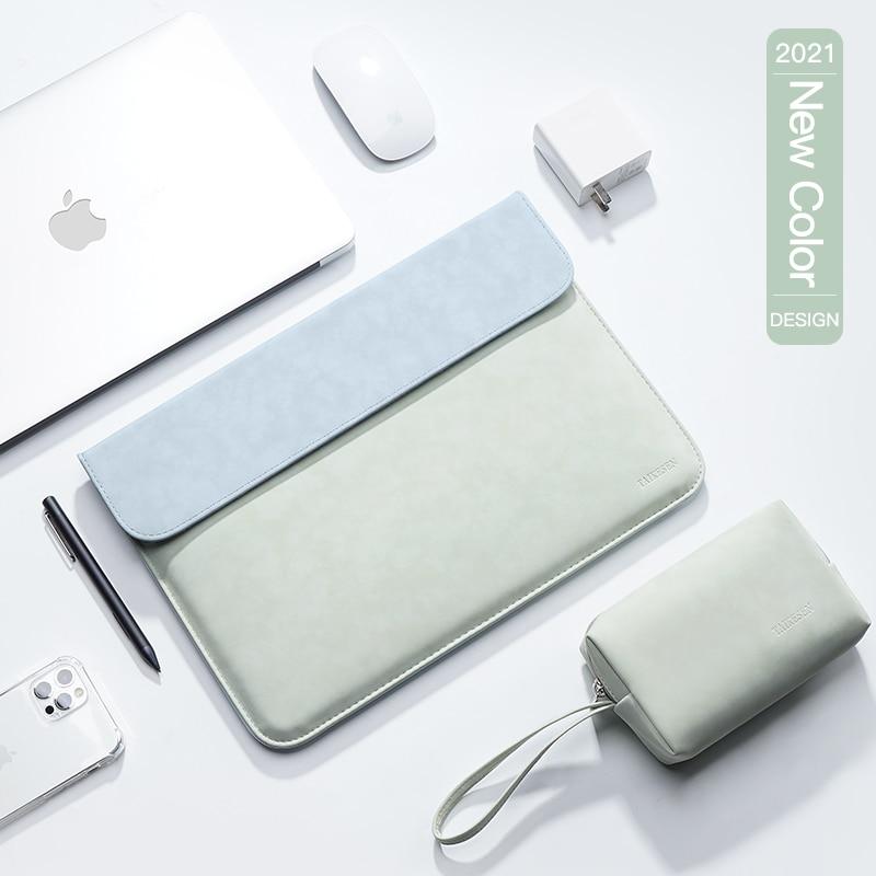 Laptop Case Sleeve Bag For Macbook Air 13 case M1 A2337 A2338 Pro 13.3 16 XiaoMi Lenovo 15.6 Cover Huawei Matebook 14 15 Shell