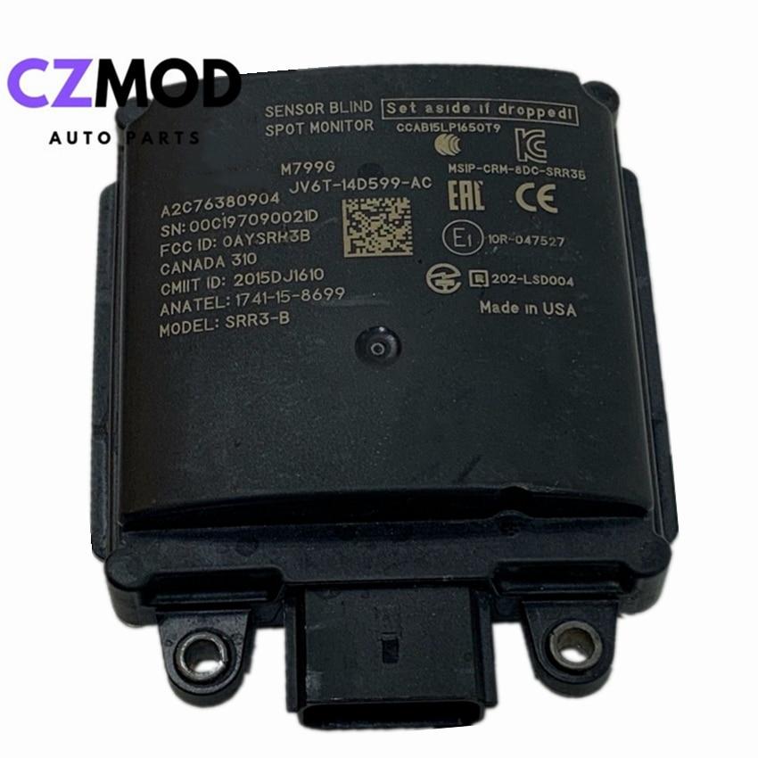 Оригинальный модуль датчика радара CZMOD для слепых зон заднего вида JV6T14D599AC для 2018-2019 Ford Escape, автомобильные аксессуары