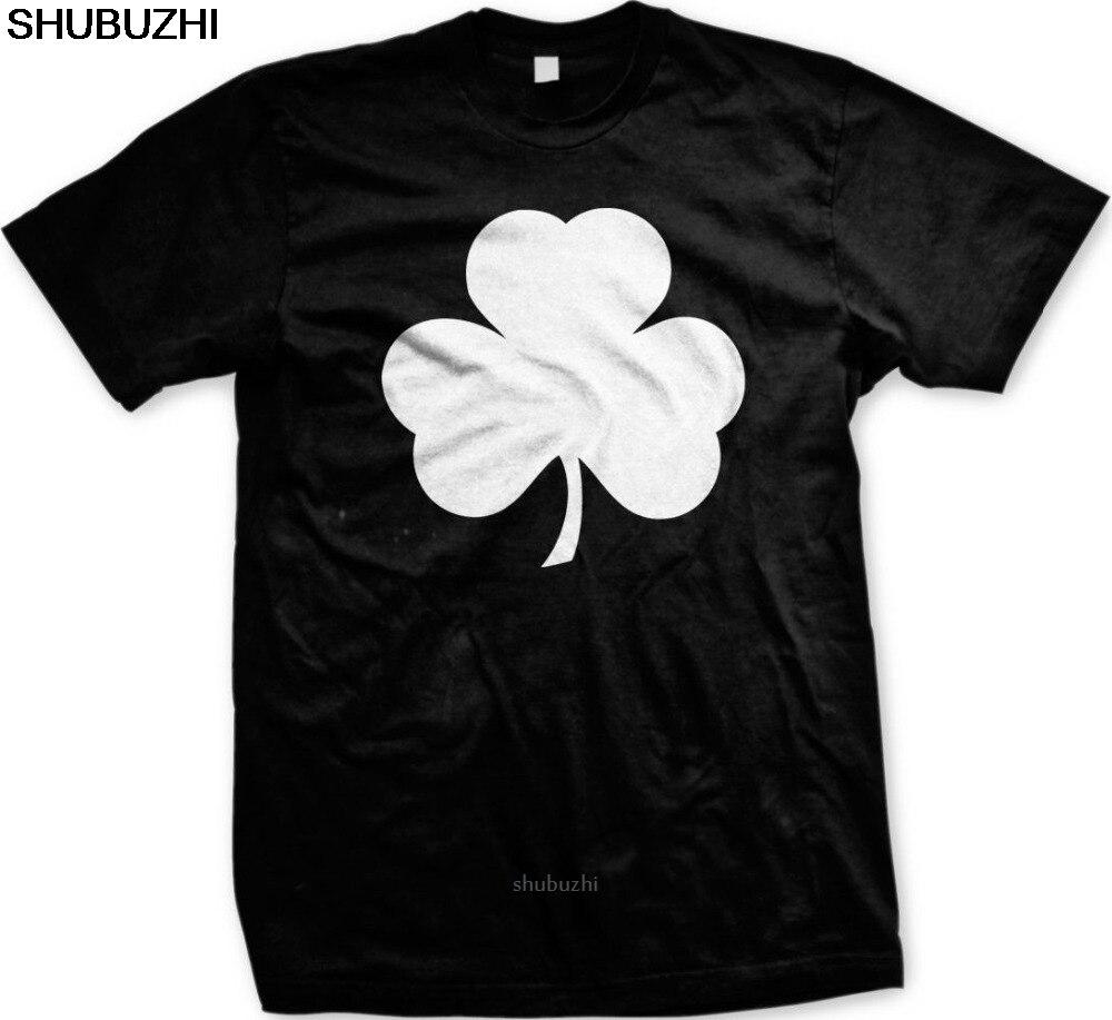 Shamrock Irish Ireland St Patricks Day Lucky Charm Eire Pot Gold Mens T-Shirt new Round Neck Summer Cotton Fitnes sbz8210