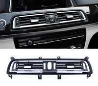 for bmw 7 series f01 f02 730 735 740 745 ac air conditioning outlet left middle right rear vent panel grille cover