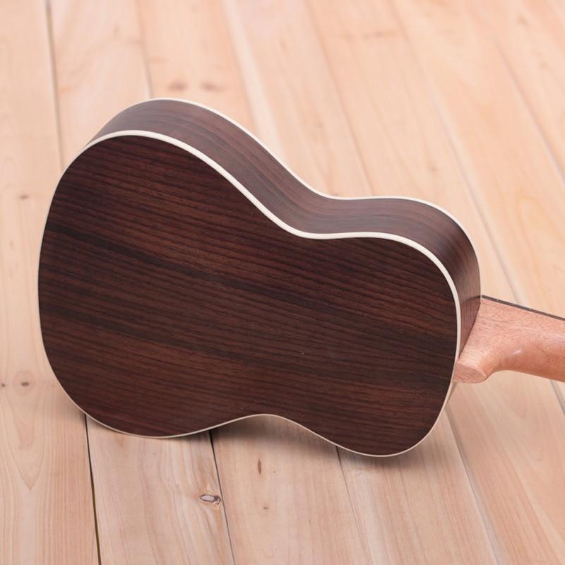 26-Inch Ukulele All Rosewood Ukulele Soprano Beginner Ukulele Music Instruments Guitar Bass 4 String Hawaiian Guitarra enlarge