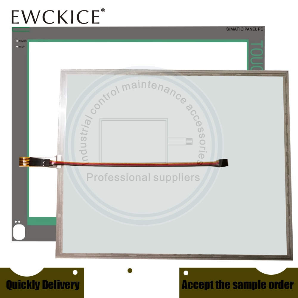 NEW PANEL 19T 677/877 ROHS A5E00747056 LBWD002295 HMI PLC Touch screen AND Front label Touch panel AND Frontlabel