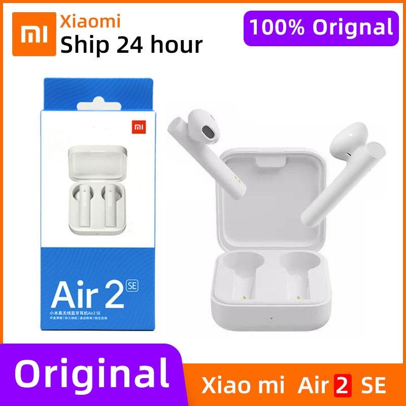 NOVO xiaomi air 2 se Original TWS sport wireless bluetooth headset with touch control Earphone mi ai