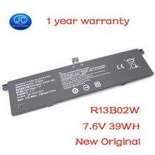 """JC nuevo Original 7,6 V 5230mAh nuevo R13B01W R13B02W batería del ordenador portátil para Xiaomi Mi Air 13,3 """"Serie Tablet PC 39WH"""