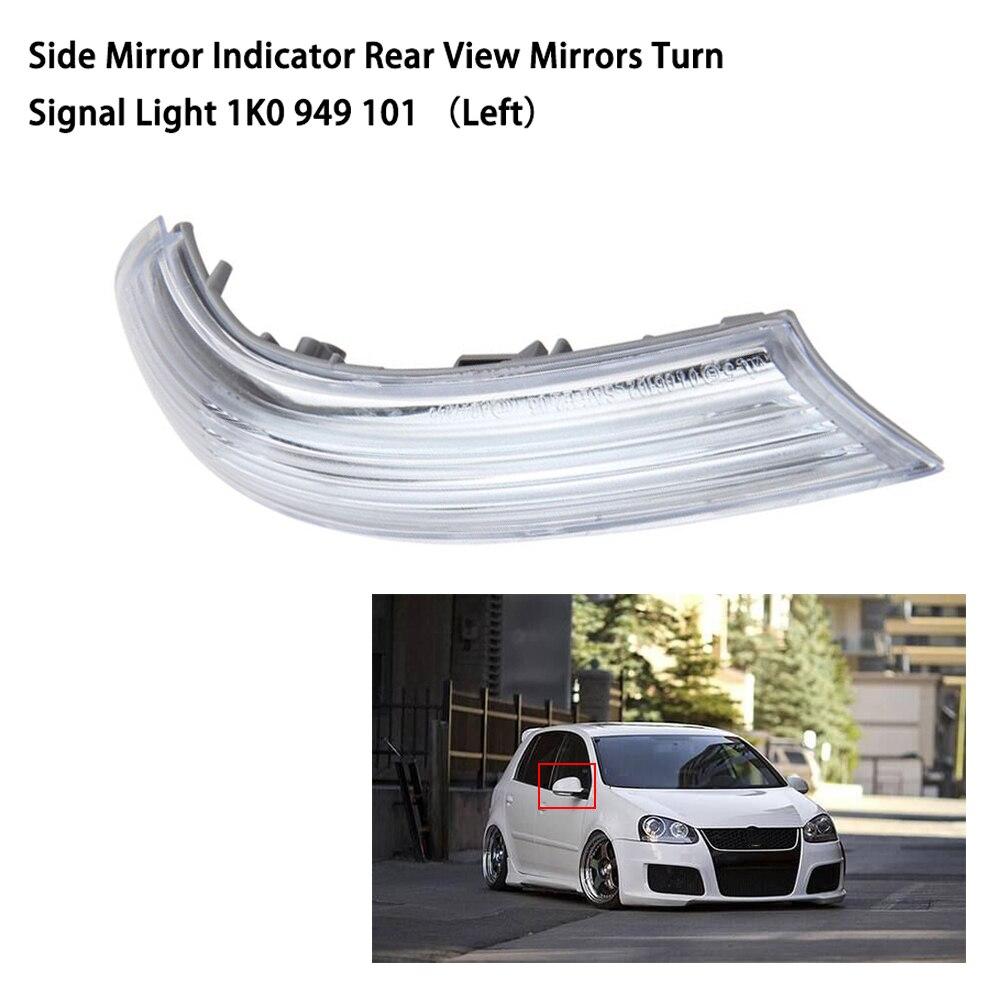 Accesorios del coche espejo izquierdo indicador trasero espejos de señal de vuelta de luz para VW JETTA MK5 1K0 949 de 101 1K0 949, 102
