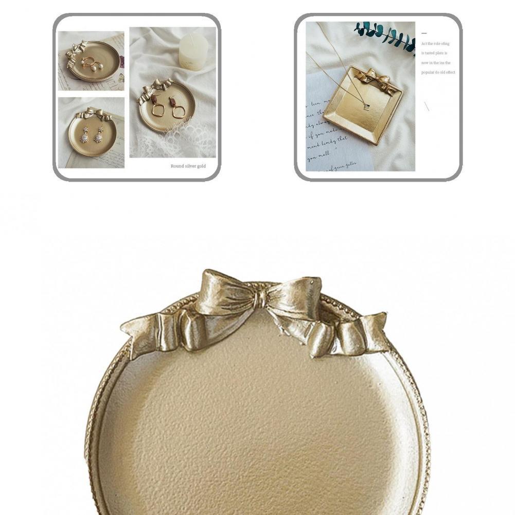 Креативные легкие серьги браслет фото реквизит блюдо из смолы фото реквизит лоток элегантный свадебный Декор