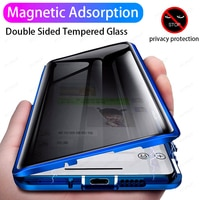 Защитный Магнитный чехол для Samsung Galaxy S21 Ultra S20 FE S10 S8 S9 Plus A51 A71 Note 20 10 9 8, 360