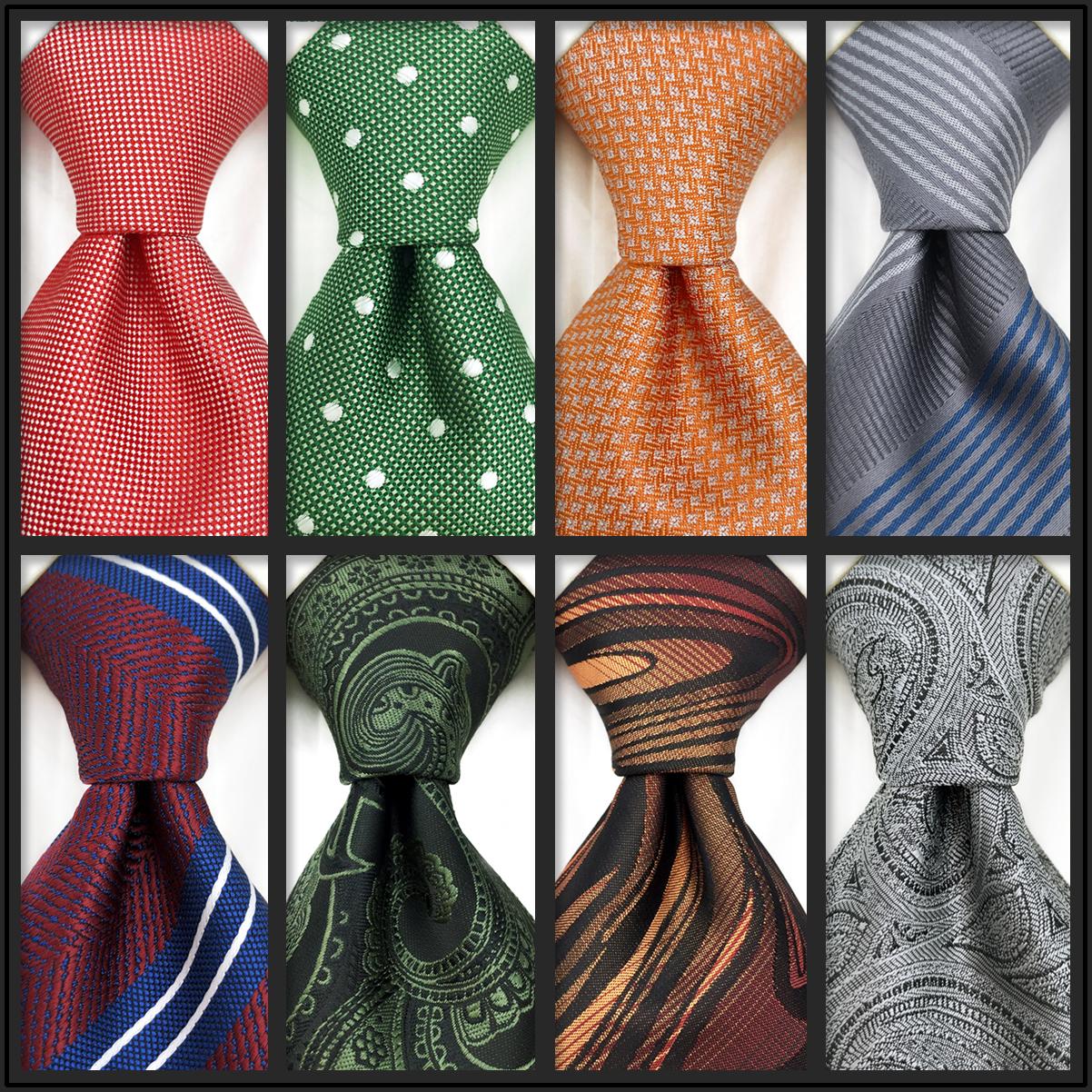 Галстуки мужские деловые однотонные, роскошные галстуки красного, розового цвета, для свадебного костюма, формального платья, Школьные Акс...