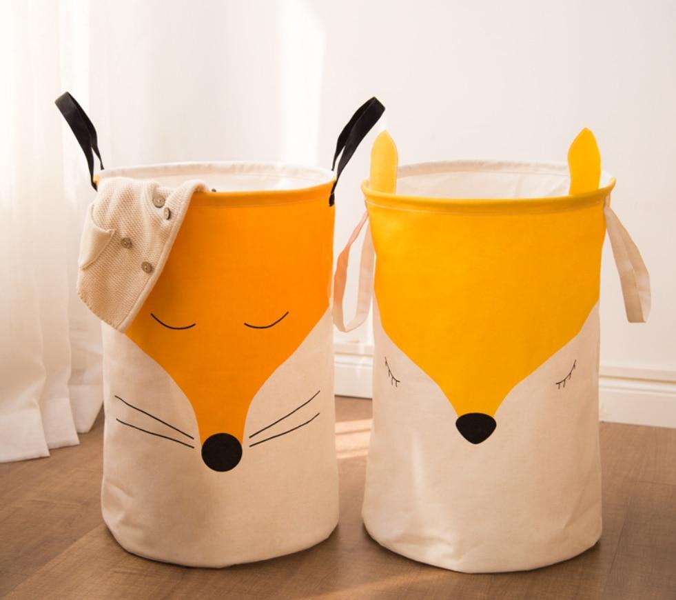 Cesto plegable para la ropa sucia, cesta impermeable con animales bonitos, accesorios...