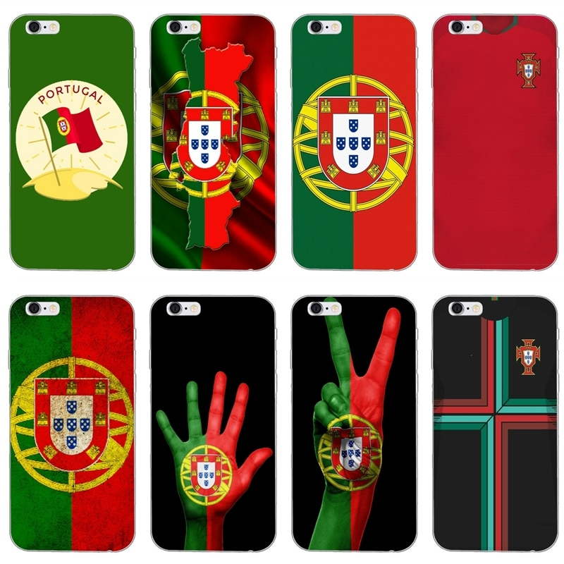 Bandera de Portugal con patrón de bandera suave funda de teléfono para Xiaomi Mi 9 9t CC9 CC9e 8 SE pro lite Redmi note 8 7 7A pro k20 2 3