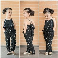 2020 new cute straps heart overalls for kids girls romper jumpsuits bib pants suspender trousers baby girls clothes