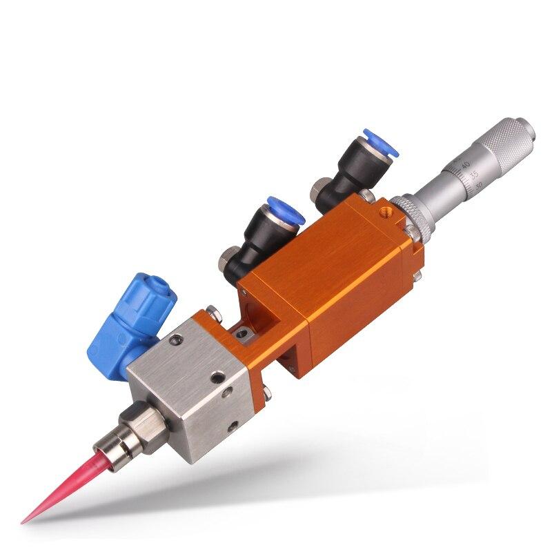 Micrometer Dispensing Valve Thimble MY405 Type Single Air Control Micro-Dispensing Yellow Glue Alcohol Valve