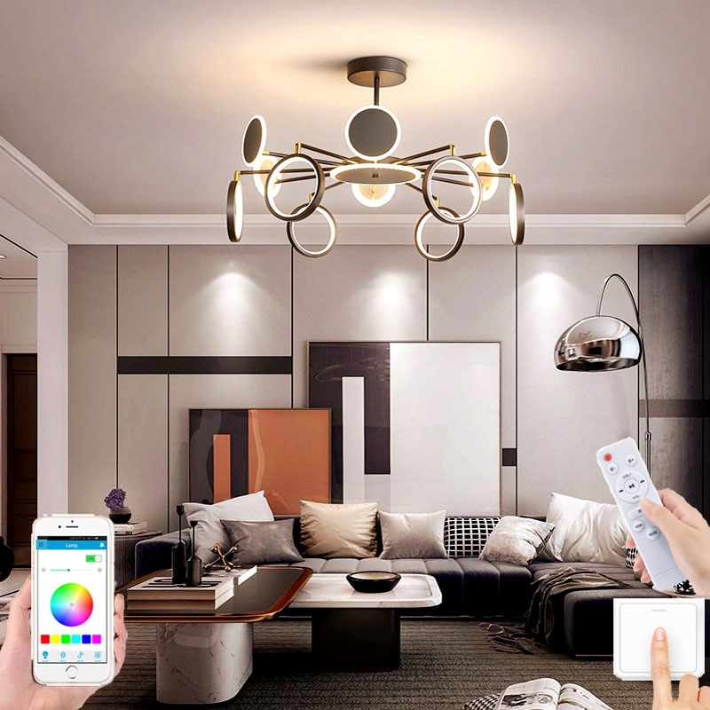 nordic lustre atmosfera moderna e minimalista lampada na sala de estar quarto restaurante