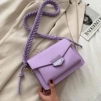 fashion knitting strap shoulder bags for women 2021 luxury handbags designer small crossbody bags lady travel messenger bag