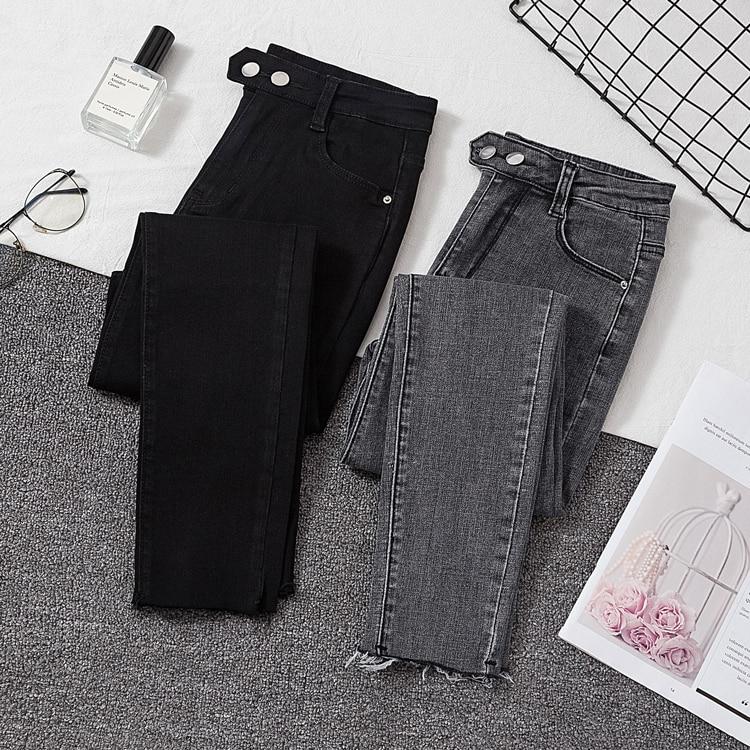 Женские джинсы, женские джинсовые брюки, черные женские джинсы, женские эластичные брюки, женские облегающие брюки для женщин, брюки