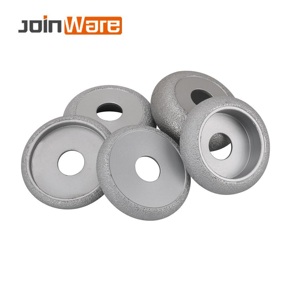 75mm Vacuum Brazed Diamond CONVEX Wheel Grinding Disc Diamond Height 10/15/20/25/30MM Used Dry or Wet