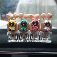 30pcs auto air outlet perfume bottle clip car air freshener vent fragrance essential oil diffuser