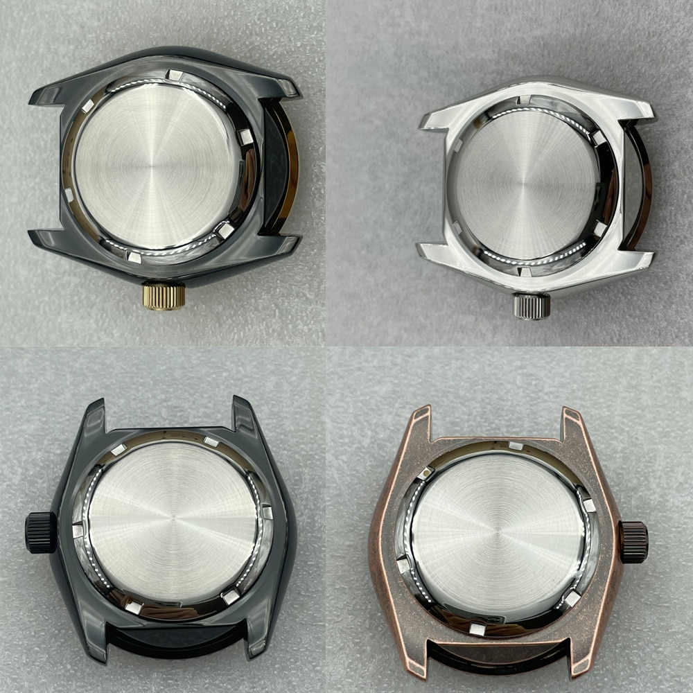 SKX007/SKX009 Modified Accessories Watch Case for Seiko NH35/NH36/4R/6R Movement Water Ghost Watch Stainless Steel Watch Cases enlarge
