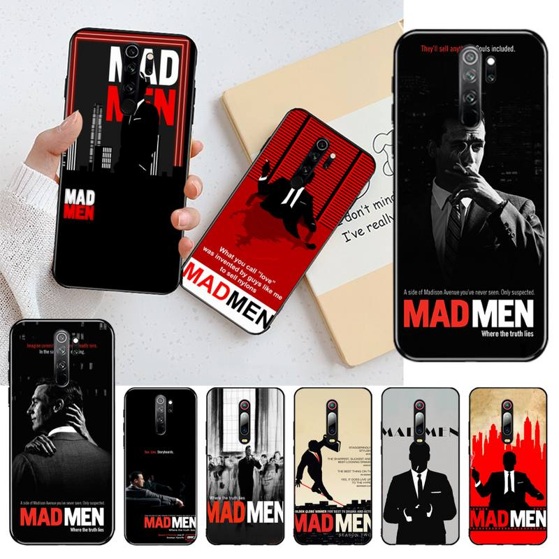 CUTEWANAN MAD MEN lujo diseño único teléfono cubierta para Redmi Note 8 8A 7 6 6A 5 5A 4 4X 4A Go Pro Plus Prime