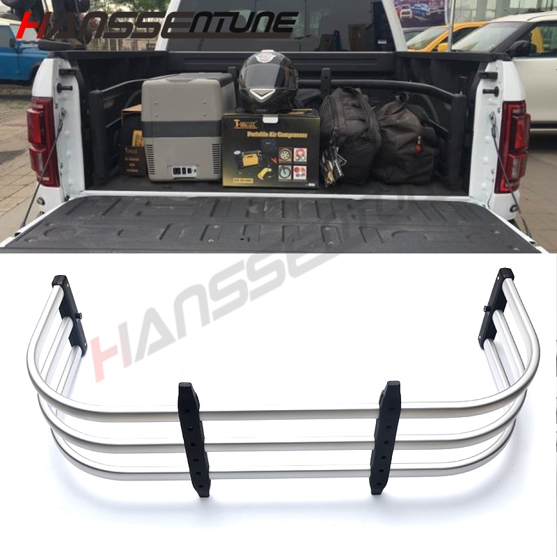 HANSSENTUNE 4x4 Car Accessories Pickup Truck Bed Tailgate Extender for Ranger