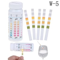 50 strips 5 in 1 swimming pool spa water test strips nitrate nitrite ph hardness measurement tool