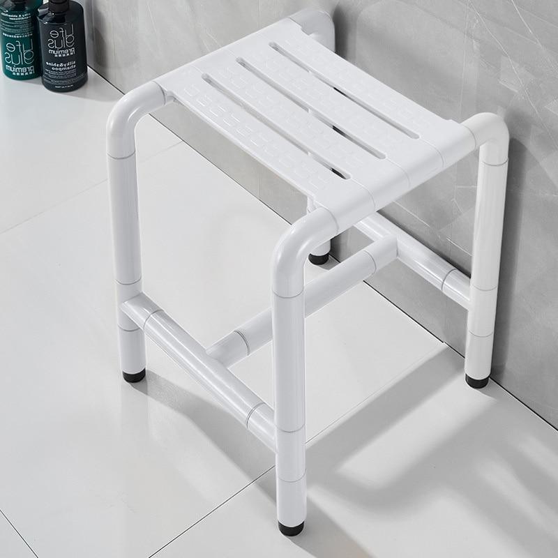 Bathroom barrier-free bath s seat chair toilet elderly disabled stainl steel non-slip seat s bath s