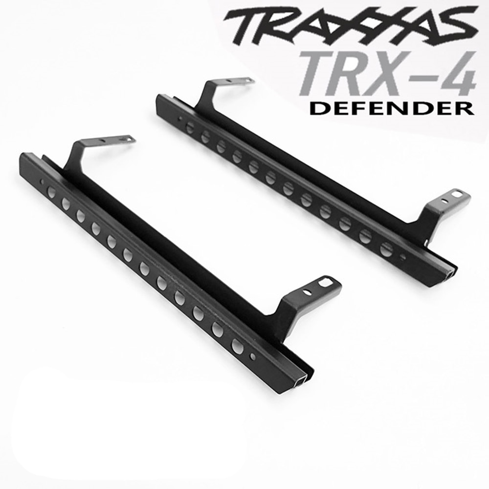 Metal Side Pedal For 1/10 Rc Car Traxxass Trx4 D110 Chassis Remote Control Car Upgrade Accessories Parts enlarge