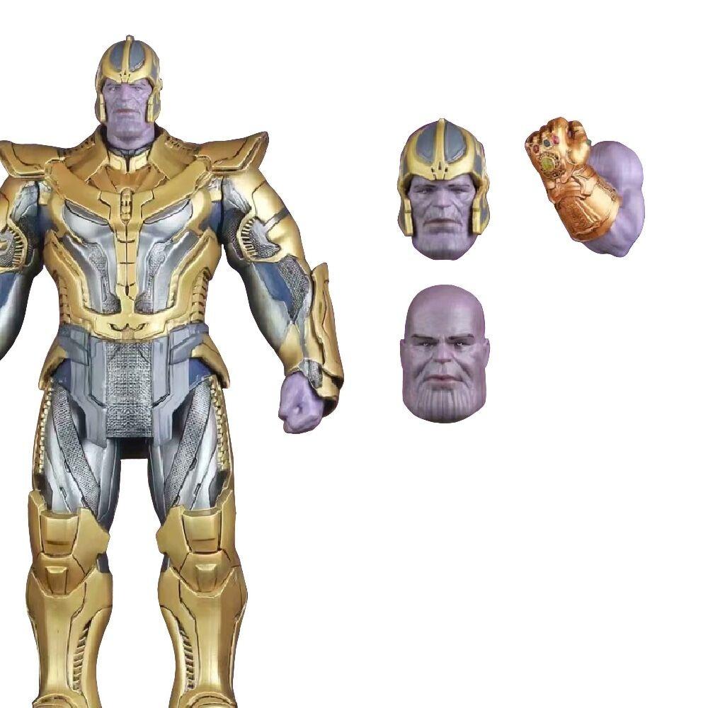 Figuras de acción de Marvel Legends, juguetes de colección de 30 Cm de Los Vengadores Infinity War, Thanos, Iron Man
