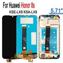 "Качество AAA ЖК дисплей + рамка для Honor 8s 5,71 ""ЖК дисплей экран для замены для телефонов Huawei Honor8s модуль ЖК экран KSE LX9 KSA LX9"