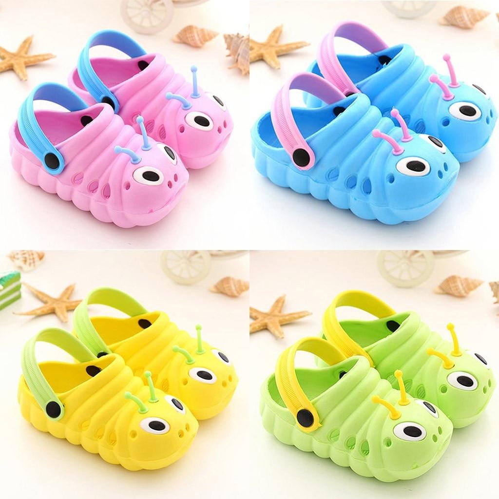 Notícias verão sapatos de bebê sandálias 1-5 anos de idade meninos meninas sapatos de praia respirável macio moda calçados esportivos alta qualidade crianças sapato