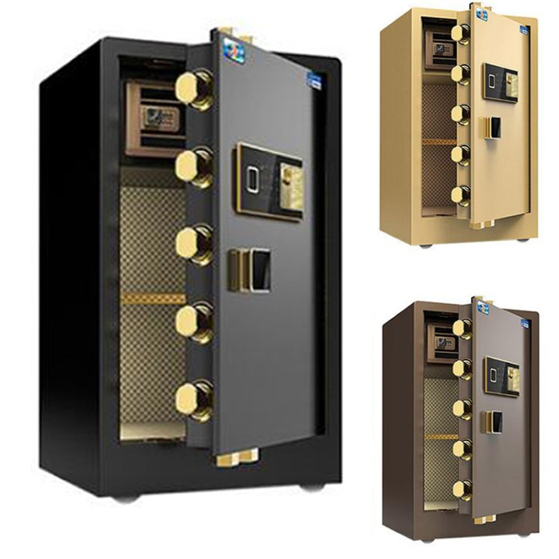 Safes Anti-theft Electronic Storage Bank Safety Box Security Money Jewelry Storage Collection Home Office Security Box LBXX015