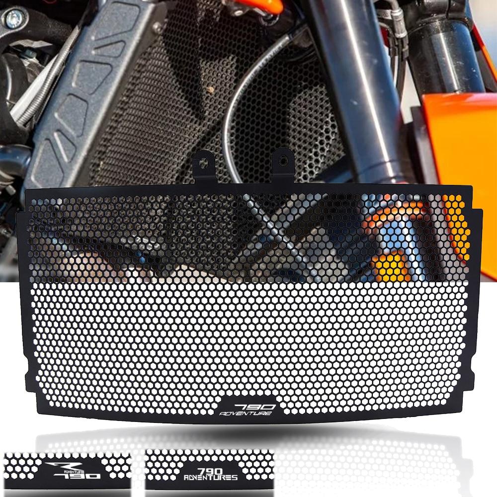 المبرد الحرس ل KTM 790 مغامرة R 790 مغامرة S 2019 790 مغامرة 2019 دراجة نارية شبكة المبرد غطاء حماية حامي