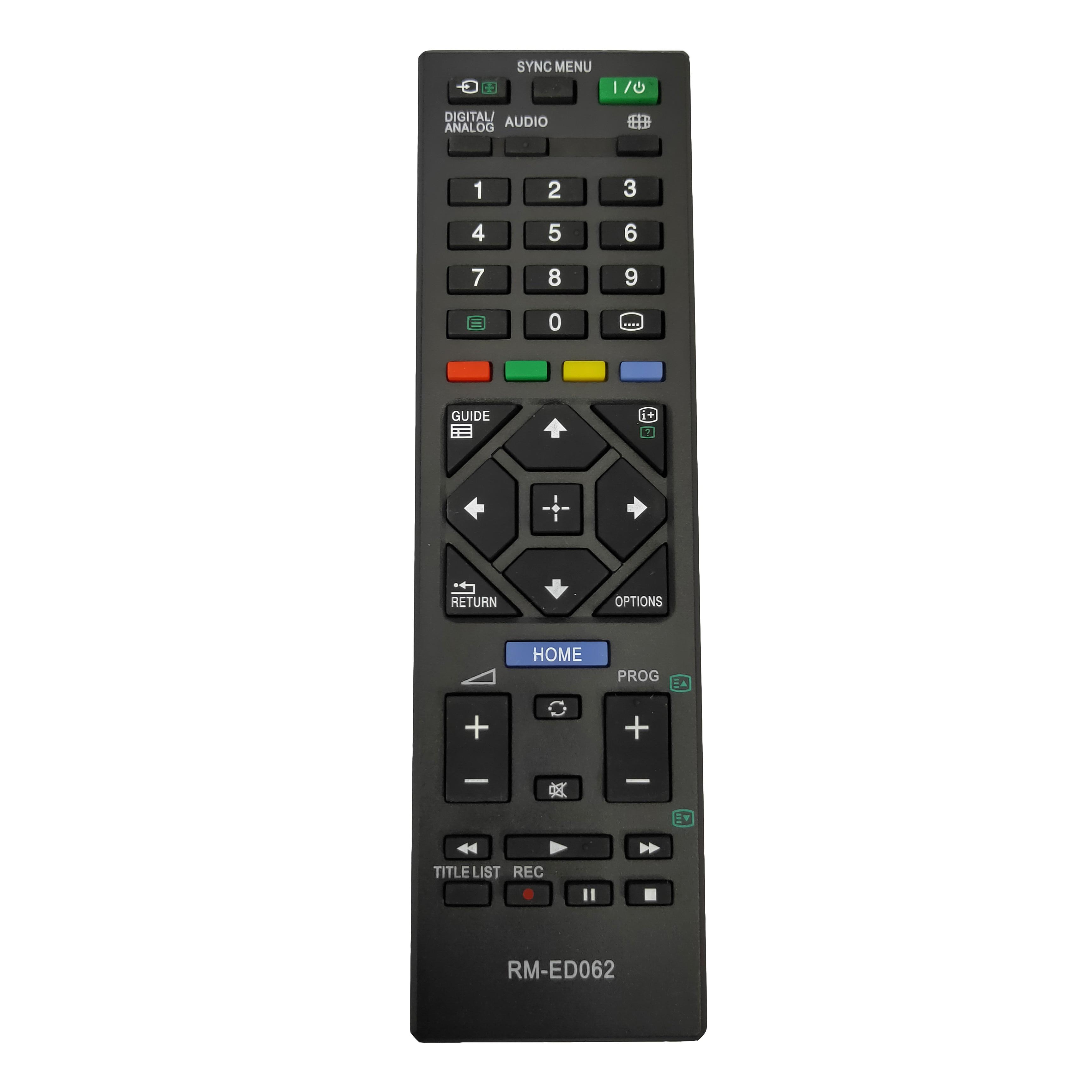Novo substituto para sony smart lcd led tv controle remoto RM-ED062 KDL-40R470A KDL-46R470A KDL-46R473A fernbedienung