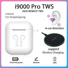 Оригинальные i9000 Pro TWS 11 Air 2 в ухо Bluetooth наушники Спортивная беспроводная гарнитура Беспроводное зарядное устройство наушники Air Pro 2